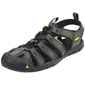 Keen Clearwater CNX Leather Sandals Men grey